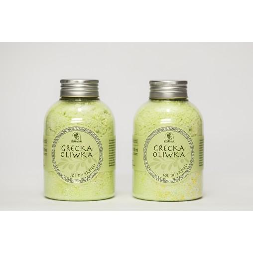 Grecka oliwka sól