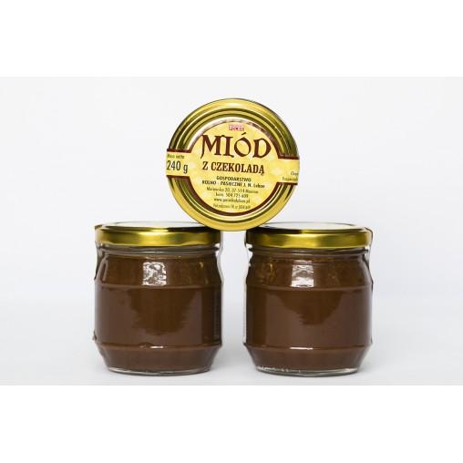 Miód z czekoladą 240 g